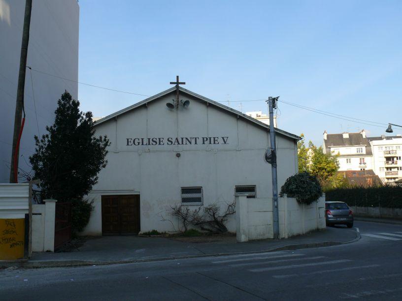 Rennes - L'église Saint-Pie-V.